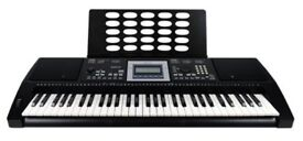 BRAND NEW! AXUS Digital AXP25 Touch Sensitive Keyboard PLUS Adjustable Stand and Folding Piano Stool