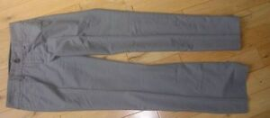 Banana Republic Ladies Cotton Pants GREY Size 2