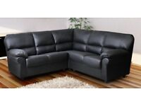 CANDY CORNER OR 3+2 LEATHER SOFA NOW ON OFFER!!