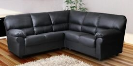 BRAND NEW CANDY 3+2 OR CORNER LEATHER SOFA NOW ON SALE!!