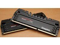 Hyperx Beast 2x4GB (8GB total) dual channel DDR3 memory