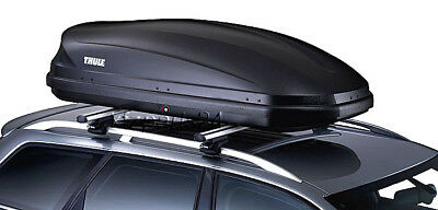 THULE Dachbox Pacific 200 (M) anthrazit 175x82 cm 410 Liter Dachkoffer -