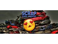 SCRAP CARS BOUGHT FOR CASH TOP PRICE PAID