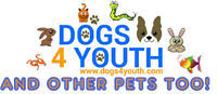 "Family Friendly Pet Event called ""Dogs 4 Youth"""