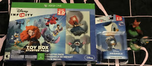 XBOX ONE Disney Infinity Game And Figures