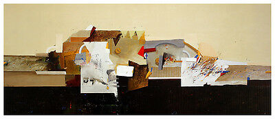 Theo den Boon Colourfull Landscape Poster Kunstdruck Bild 41x92cm