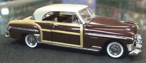 1950 Chrysler Newport Town & Country by Franklin Mint in o-scale