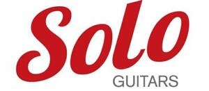 Largest selection of Guitar Necks, Bodies, Parts, Cases, Accessories and much more from SOLO Guitars