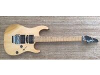 Washburn MG-34 project guitar.