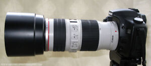 Professional Canon Telephoto Zoom Lens 70-200mm f4 IS