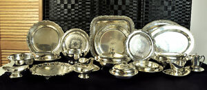 Vintage silverplate collection
