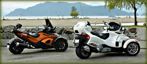 2011 Can-Am Spyder RT Limited & RSS (for him & her) !!!