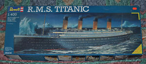 TITANIC model 1:400 scale, Revell, started