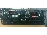 Denon Twin DJ CD players DND4000