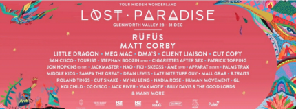 Lost Paradise 4 day GA camping ticket