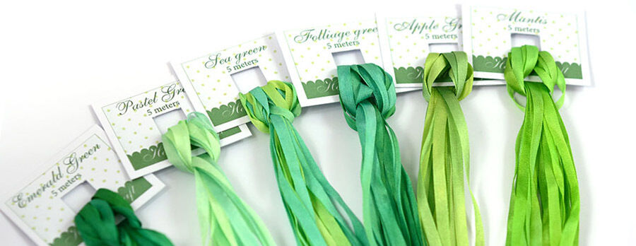 Silk Ribbon Craft