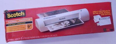 New In Open Box Scotch Thermal Laminator Model Tl901c R16193