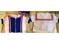 Adult Cheerleading Costume size 12 various tops/skirts