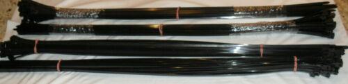 """PANDUIT PLT8H-L0 Cable Tie 30.6""""L - Releasable Nylon,Black- Lot of 120"""