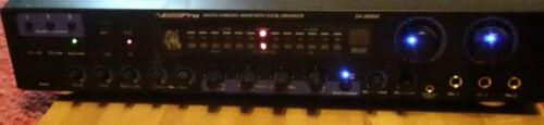 VocoPro DA-2808VE Digital Karaoke Mixer with Vocal Enhancer-w/manual