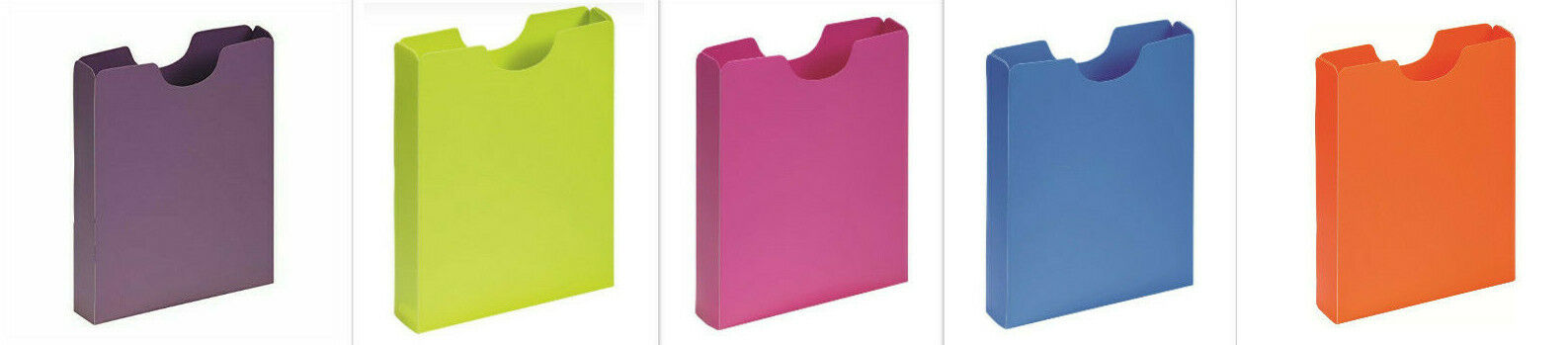 Schulheftbox A4  Pagna Heftbox Hochformat aus PP NEU OVP
