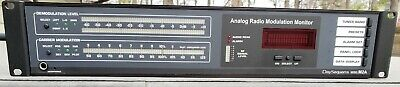 Daysequerra M2a Analog Fm Radio Modulation Monitor - Excellent Condition