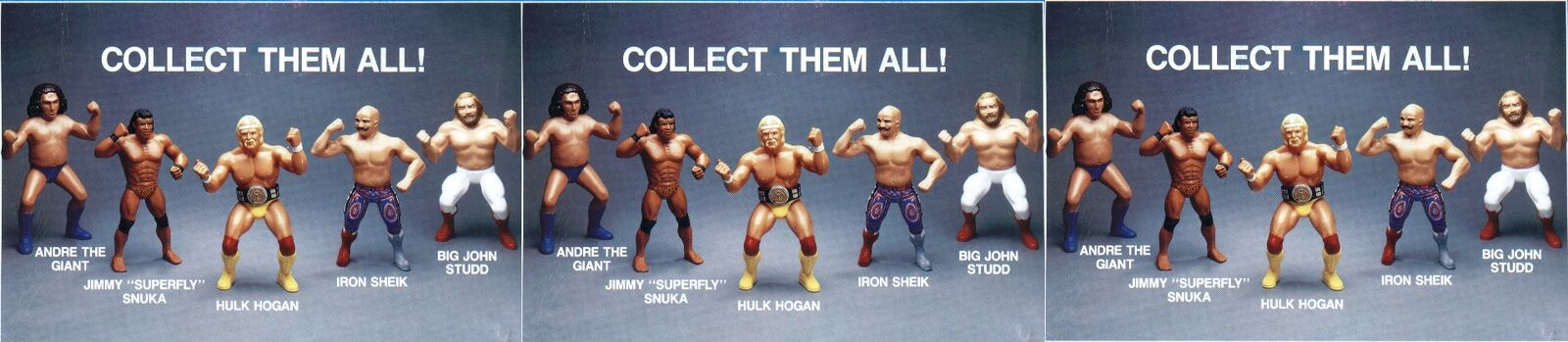 Jays WWF Wrestling Action Figures