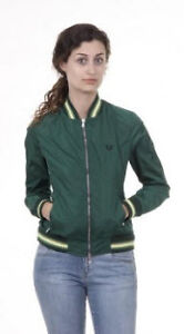 FRED PERRY WOMEN'S SPORT JACKET GREEN