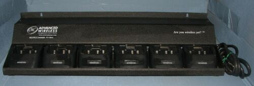 6 Unit Gang Charger For Kenwood TK-272 2-Way Radios