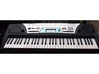 Yamaha PSR-170 Electronic Keyboard SYNTHESIZER Full-Size Keys MIDI DJ mode w/ AC Adapter