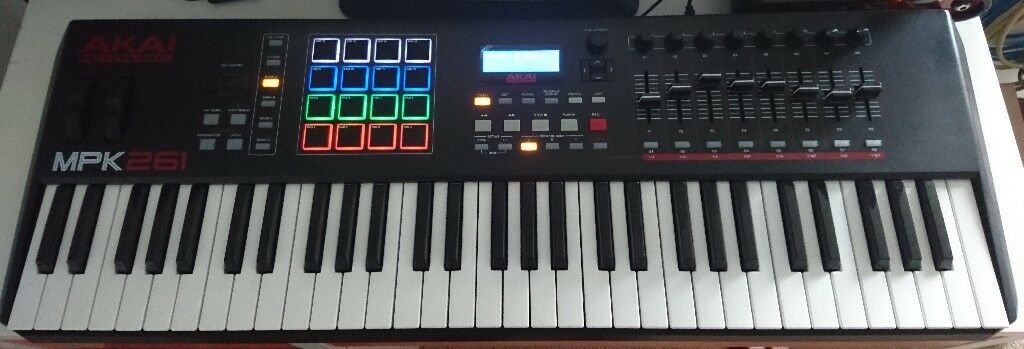 Akai MPK261 Midi Keyboard / Controller   in Murrayfield, Edinburgh   Gumtree
