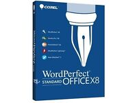Corel WordPerfect Office X8 Standard Full Version Genuine For PC