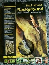 Exo Terra Rock Terrarium Background 45x60cm