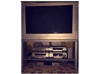 PANASONIC TV & STAND!
