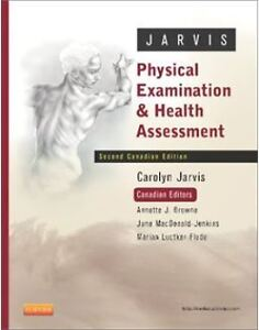 Physical Examination and Health Assessment, 2nd Canadian Edition