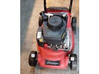 Petrol Sovereign 40 CC Push Mower / Basket.