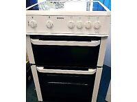 BEKO STANDING 60cm ELECTRIC COOKER, EXCELLENT CONDITION COMES WITH FOUR MONTHS WARRANTY