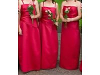 Bridesmaids dresses x 3. Handmade.