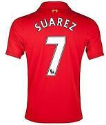Liverpool Shirt Suarez