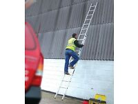 Long Ladder 5.4m-9.75m Youngman Trade Section Extension Ladder