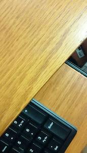 Designer Wood Veneer/Laminate workstation Desks for sale