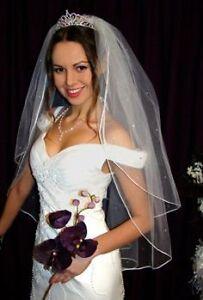 Wedding Veil, Brand new, Fingertip length