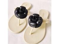 Brand new flip flops & bunny ear sliders, Dior, Chanel, Gucci topshop
