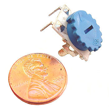 2.5k Ohm Potentiometer Thumbwheel Single Turn Pot 20