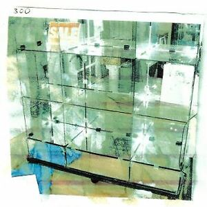 Display Showcase All Glass Cubes
