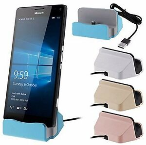 Mobile Phone Charging Holder Sync Dock Charger iphone - Android
