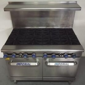 Imperial 8 Ring Gas Cooker Hire/Buy over 4 Months using Easy Payments