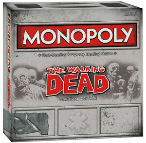 The Walking Dead Monopoly at JJ Sports