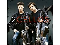 For Sale- 2Cellos Tickets for Audley End House -15th July 2018