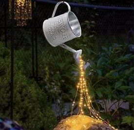 Garden ornament with lights